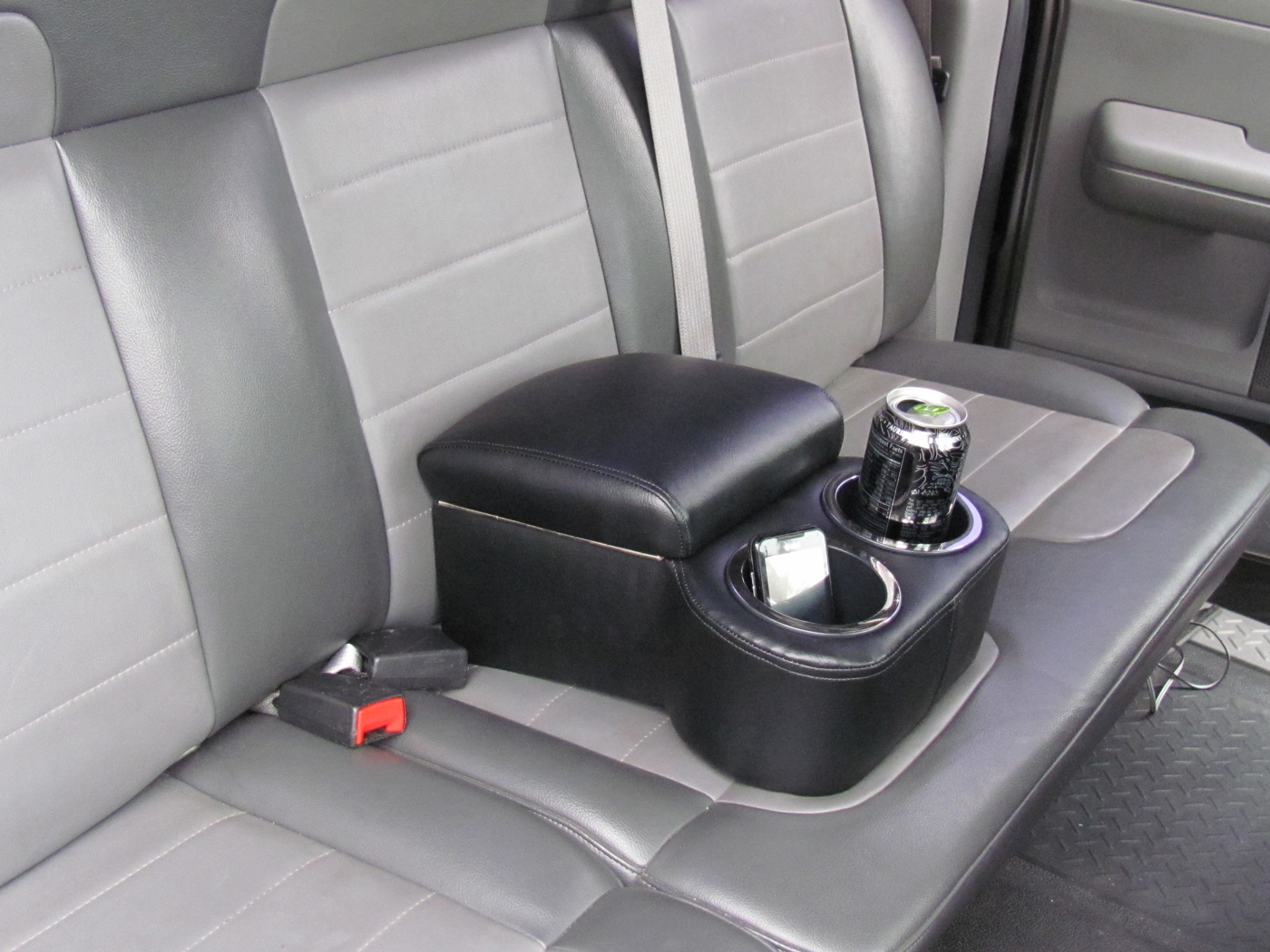 car cup holder console bench seat cup holder red blue grey white black ebay. Black Bedroom Furniture Sets. Home Design Ideas