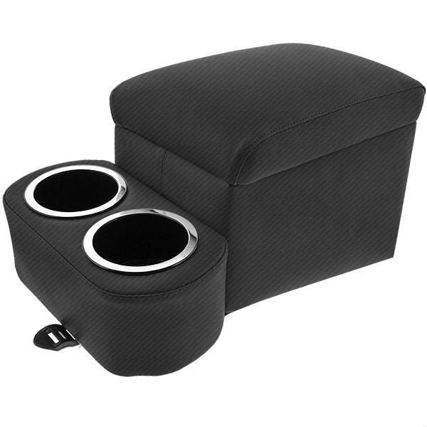 Carbon Fiber Black Tall Bench Seat Cruiser Console