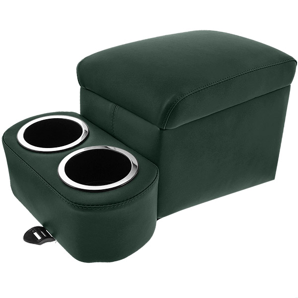 Hunter Green Short Bench Seat Cruiser Console