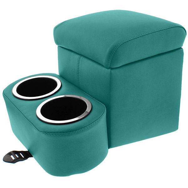 Teal Tall Shorty Bench Seat Cruiser Console
